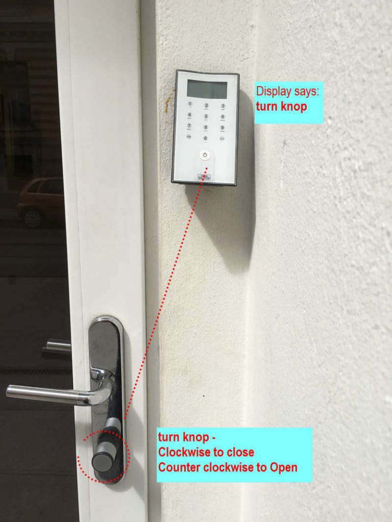 Instruction door1